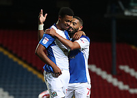 Blackburn Rovers' Joe Nuttall celebrates scoring his sides first goal<br /> <br /> Photographer /Rachel HolbornCameraSport<br /> <br /> The EFL Checkatrade Trophy - Blackburn Rovers v Stoke City U23s - Tuesday 29th August 2017 - Ewood Park - Blackburn<br />  <br /> World Copyright &copy; 2018 CameraSport. All rights reserved. 43 Linden Ave. Countesthorpe. Leicester. England. LE8 5PG - Tel: +44 (0) 116 277 4147 - admin@camerasport.com - www.camerasport.com