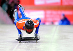 17 December 2010: Alexander Tretiakov sliding for Russia, finishes in 13th place at the Viessmann FIBT Skeleton World Cup Championships in Lake Placid, New York, USA. Mandatory Credit: Ed Wolfstein Photo