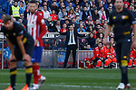 Sevilla´s coach Unai Emery during 2015-16 La Liga match at Vicente Calderon stadium in Madrid, Spain. January 24, 2016. (ALTERPHOTOS/Victor Blanco)