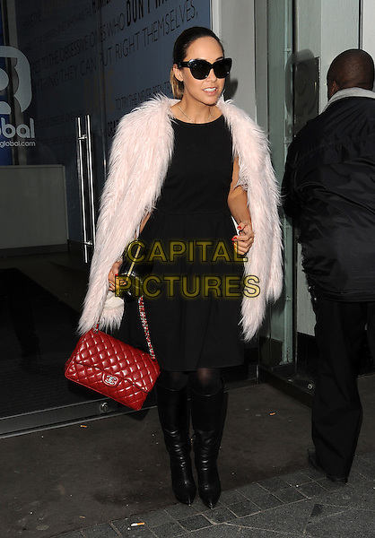 LONDON, ENGLAND - NOVEMBER 28th: Myleene Klass at Global Radio on November 28th, 2014 in London, England.<br /> CAP/CAN<br /> &copy;Can Nguyen/Capital Pictures