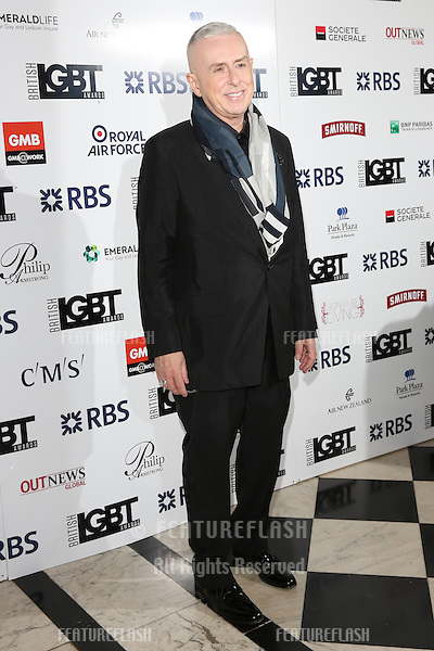 Holly Johnson at The British LGBT Awards at the Grand Connaught Rooms, London.<br /> May 13, 2016  London, UK<br /> Picture: James Smith / Featureflash