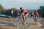 October 17, 2015 - Boulder, Colorado, U.S. - Cliff Bar cyclist, Troy Wells #15, works his way through a difficult sandy pitch during the U.S. Open of Cyclocross, Valmont Bike Park, Boulder, Colorado.