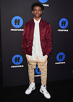 HOLLYWOOD, CA - JANUARY 18:  Aubrey Joseph at the Freeform Summit at NeueHouse on January 18, 2018 in Hollywood, California. (Photo by Scott Kirkland/PictureGroup)