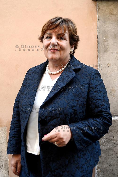 Roma, 15 Giugno 2016.<br /> Rossella Orlandi<br /> Firma di un protocollo d'intesa per l'Integrity in ambito calcistico tra il Presidente dell'INPS, il Direttore della Agenzia delle Entrate e il Presidente della Lega Italiana Calcio Professionistico.
