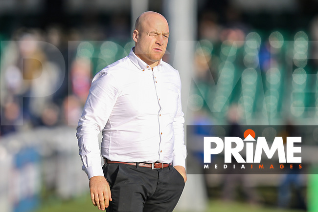Danny WARD (Head Coach) of London Broncos during the Betfred Super League match between London Broncos and Wakefield Trinity at Castle Bar , West Ealing , England on 3 February 2019. Photo by David Horn.