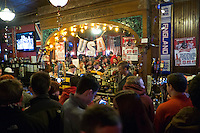 DENVER, CO - MARCH 21, 2013 - USMNT American Outlaws Bar, The British Bulldog Pub, downtown Denver, CO.
