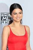 LOS ANGELES - NOV 20: Selena Gomez at the 2016 American Music Awards at Microsoft Theater on November 20, 2016 in Los Angeles, California