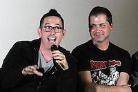 "Darren Lynn Bousman, Adam Green<br /> at the NuHo Online Film Fest (NoHoFilmFest.com) Premiere of ""Coldwater,"" Bigfoot Crest Theater, Westwood, CA 01-09-14<br /> David Edwards/DailyCeleb.com 818-249-4998"