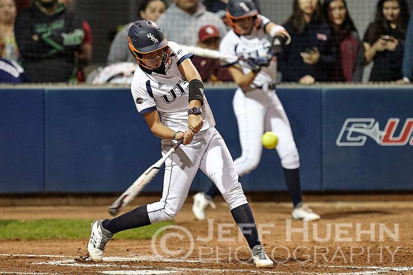 SAN ANTONIO, TX - MARCH 7, 2018: The University of Texas at San Antonio Roadrunners fall to the University of Texas Longhorns 1-0 at Roadrunner Field. (Photo by Jeff Huehn)