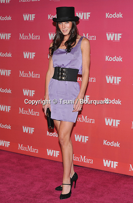 Lynn Collins  -<br /> WIF - Women In Film Crystal and Lucy Awards 2009 at the Hyatt Regency Century Plaza In Los Angeles.