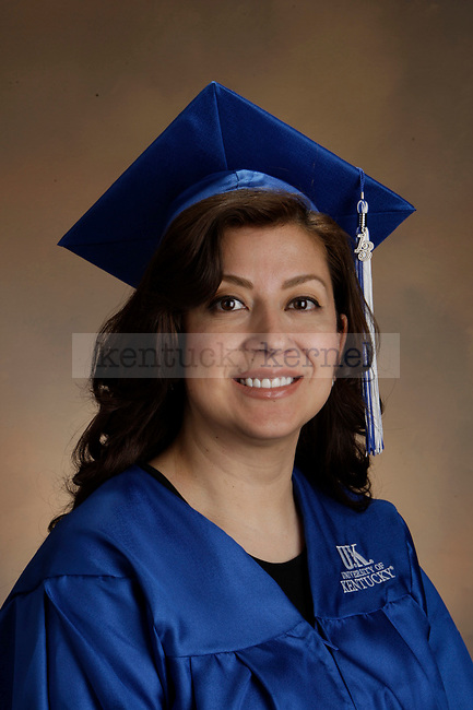Monarrez, Brenda photographed during the Feb/Mar, 2013, Grad Salute in Lexington, Ky.
