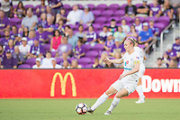 Orlando, FL - Saturday July 15, 2017: Becky Sauerbrunn during a regular season National Women's Soccer League (NWSL) match between the Orlando Pride and FC Kansas City at Orlando City Stadium.