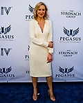 HALLANDALE BEACH, FL - JANUARY 27: Belinda Stronach on the Blue Carpet on Pegasus World Cup Invitational Day at Gulfstream Park Race Track on January 27, 2018 in Hallandale Beach, Florida. (Photo by Scott Serio/Eclipse Sportswire/Getty Images)