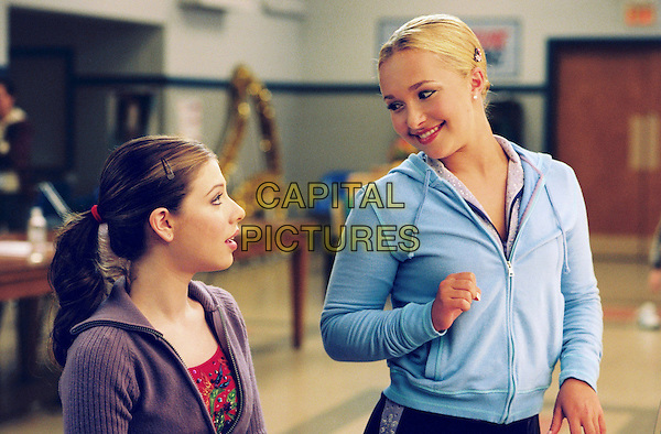 MICHELLE TRACHTENBERG & HAYDFEN PANETTIERE.in Ice Princess.*Editorial Use Only*.www.capitalpictures.com.sales@capitalpictures.com.Supplied by Capital Pictures.