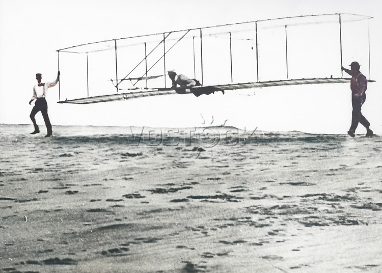 Wright Brothers' Glider Tests, 1902