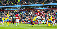 Leeds United's Pablo Hernandez goes close from a freekick <br /> <br /> Photographer Alex Dodd/CameraSport<br /> <br /> The EFL Sky Bet Championship - Aston Villa v Leeds United - Sunday 23rd December 2018 - Villa Park - Birmingham<br /> <br /> World Copyright &copy; 2018 CameraSport. All rights reserved. 43 Linden Ave. Countesthorpe. Leicester. England. LE8 5PG - Tel: +44 (0) 116 277 4147 - admin@camerasport.com - www.camerasport.com