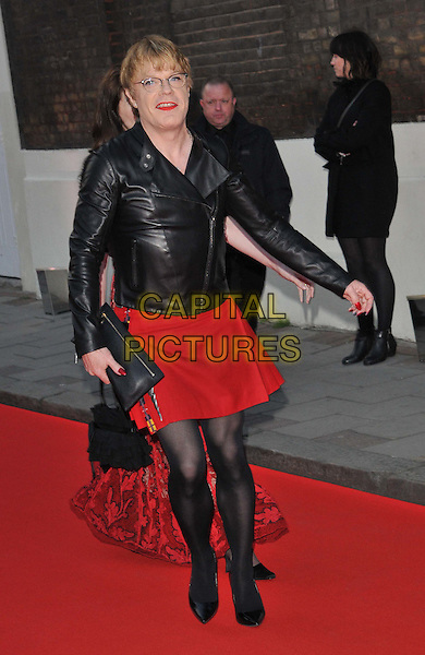 LONDON, ENGLAND - APRIL 19: Eddie Izzard attends the Gala Celebration in Honour of Kevin Spacey, The Old Vic theatre, The Cut, on Sunday April 19, 2015 in London, England, UK. <br /> CAP/CAN<br /> &copy;Can Nguyen/Capital Pictures