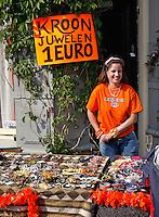 Vrijmarkt op Koningsdag