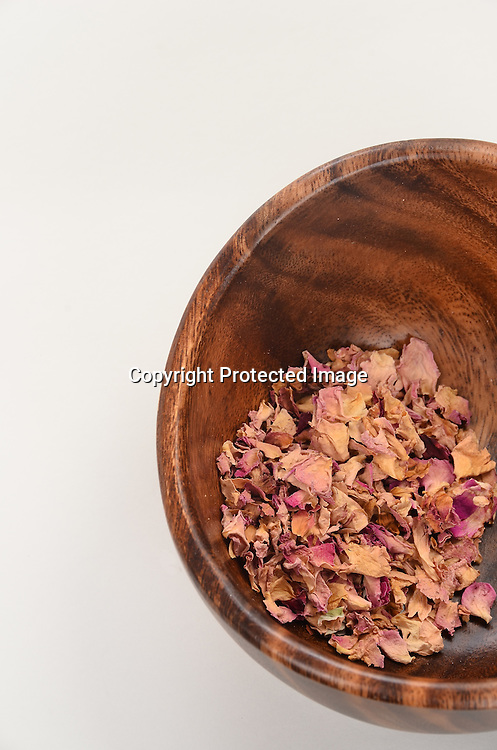 Bowl of Dried Rose Petal