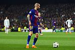 UEFA Champions League 2017/2018.<br /> Round of 16 2nd leg.<br /> FC Barcelona vs Chelsea FC: 3-0.<br /> Aleix Vidal.