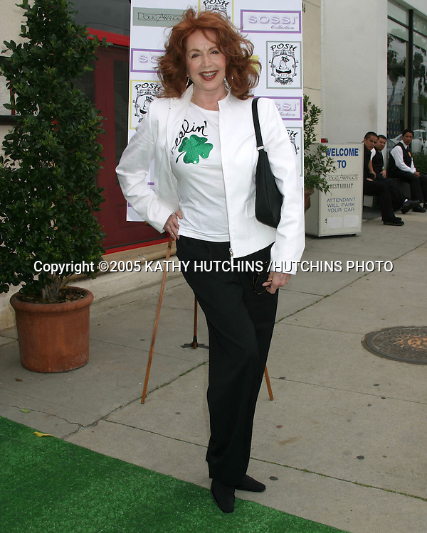 SUZANNE ROGERS.A VERY POSH TEA.DOUG ARANGO'S RESUTRANT ON MELROSE.MARCH 12, 2005.©2005 KATHY HUTCHINS /HUTCHINS PHOTO...