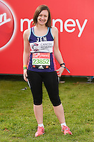 Jennifer Bartram<br /> at the start of the 2016 London Marathon, Blackheath, Greenwich London<br /> <br /> <br /> &copy;Ash Knotek  D3108 24/04/2016