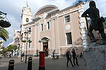 Cathedral church of St. Mary the Crowned, Gibraltar, British overseas territory in southern Europe