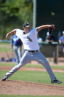 Chicago White Sox pitcher Cody Winiarski (39) during an Instructional League game against the Los Angeles Dodgers on October 8, 2013 at Camelback Ranch Complex in Glendale, Arizona.  (Mike Janes/Four Seam Images)