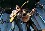 Patrick Simmons and John McFee of the Doobie Brothers headline with Chicago at the Harveys Lake Tahoe Outdoor Arena on Friday, July 13, 2012..Photo by Cathleen Allison