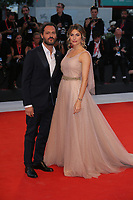 VENICE, ITALY - SEPTEMBER 05: Eleonora Pedron and Fabio Troiano walk the red carpet ahead of the Gloria Mundi screening during the 76th Venice Film Festival at Sala Grande on September 05, 2019 in Venice, Italy. (Photo by Mark Cape/Insidefoto)<br /> Venezia 05/09/2019