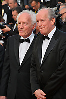CANNES, FRANCE. May 25, 2019: Luc Dardenne & Jean-Pierre Dardenne at the Closing Gala premiere of the 72nd Festival de Cannes.<br /> Picture: Paul Smith / Featureflash