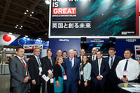 OCTOBER 15, 2014 -TOKYO, JAPAN: Mayor of London, Boris Johnson and UK team, promotes UK-Japan partnerships in cell therapy and regenerative medicine at Bio-city conference in Yokohama, Japan 14th October, 2015. (photo by Ko Sasaki- Sinopx)