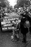 Unknown, Mother.<br /> <br /> Rome, 01/05/2019. This year I will not go to a MayDay Parade, I will not photograph Red flags, trade unionists, activists, thousands of members of the public marching, celebrating, chanting, fighting, marking the International Worker's Day. This year, I decided to show some of the Workers I had the chance to meet and document while at Work. This Story is dedicated to all the people who work, to all the People who are struggling to find a job, to the underpaid, to the exploited, and to the people who work in slave conditions, another way is really possible, and it is not the usual meaningless slogan: MAKE MAYDAY EVERYDAY!<br /> <br /> Happy International Workers Day, long live MayDay!