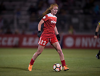 Boyds, MD - Saturday September 30, 2017: Tori Huster during a regular season National Women's Soccer League (NWSL) match between the Washington Spirit and the Seattle Reign FC at Maureen Hendricks Field, Maryland SoccerPlex.
