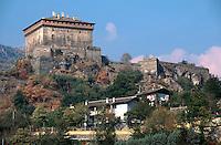 Italien, Aostatal, Castello di Verres