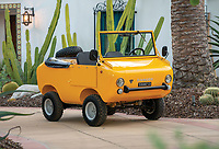 BNPS.co.uk (01202 558833)<br /> Pic: RMSothebys/BNPS<br /> <br /> Not-so-rugged off roader revs up for auction...<br /> <br /> This quirky-looking Italian off-road microcar from the 1960's has emerged for sale at auction for £33,000 ($40,000).<br /> <br /> The bizarre Ferves Ranger is one of just 50 survivors of its kind and is powered by a tiny 18-horsepower engine based on Fiat 500 parts.<br /> <br /> Despite its lack of power the motor is incredibly desirable and has the capability to cover terrain that no other microcar could dream of - and unlike a Ranger Rover, if the tiny motor gets stuck you can just push it out on your own.