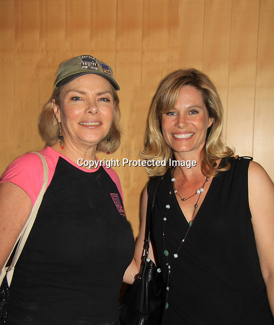 """Shannon Sturges (Days Molly, Passions, Port Charles), Denise Pence (Guiding Light """"Katie Parker"""") were a part of The Rehearsal Club Centennial Week starting on June 27, 2013 at The Lincoln Center Library followed by The Tribeca Screening Room  The Rehearsal Club started in 1913 with this year being 100 years.  (Photo by Sue Coflin/Max Photos)"""