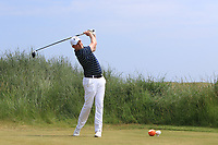 Matthew McClean (Malone) on the 3rd tee during Round 4 of the East of Ireland Amateur Open Championship 2018 at Co. Louth Golf Club, Baltray, Co. Louth on Monday 4th June 2018.<br /> Picture:  Thos Caffrey / Golffile<br /> <br /> All photo usage must carry mandatory copyright credit (&copy; Golffile | Thos Caffrey)