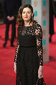 London, UK. 14 February 2016. Amanda Berry. Red carpet arrivals for the 69th EE British Academy Film Awards, BAFTAs, at the Royal Opera House. © Vibrant Pictures/Alamy Live News