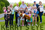 Members of Abbeyfeale Town Park committee &amp; Dog Show organisers.<br /> Brona &amp; Lorna McCarthy, Geraldine O' Brien, James Harnett, Jim O' Shea, Celine McNally, John O' Sullivan, Jacqueline Morrissey, <br /> Front ( children) Rhys &amp; Julie McCarthy, Calum &amp; Maeve Morrissey, Abbey &amp; Sadie McCarthy.