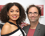 Barrett Doss and Danny Rubin attends The New Dramatists' 68th Annual Spring Luncheon at the Marriott Marquis on May 16, 2017 in New York City.