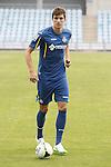 Santiago Vergini during his presentation as new Getafe´s `player in Madrid, Spain. July 16, 2015. (ALTERPHOTOS/Victor Blanco)