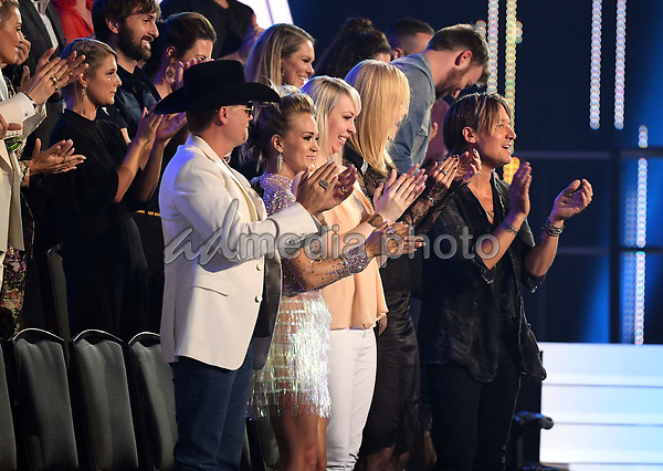 07 June 2017 - Nashville, Tennessee - John Rich, Carrie Underwood, Nicole Kidman, Keith Urban. 2017 CMT Music Awards held at Music City Center. Photo Credit: Laura Farr/AdMedia