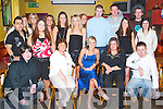 Party: Enjoying the evening at her 21st birthday on Saturday in Kirbys Brogue Inn, Tralee, was Elaine Blacklaw of Racecourse Lawn (seated centre), along with family and friends..
