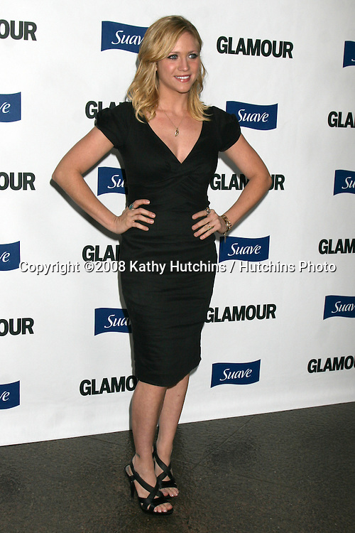 "Brittany Snow arriving at the ""Glamour Reel Moments"" Premieres of a Series of Short Films Written & Directed by Women in Hollywood at the Director's Guild Theater in Los Angeles, CA.October 14, 2008.©2008 Kathy Hutchins / Hutchins Photo...                ."