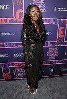 NEW YORK, NY - JANUARY 25: Jessie Woo at the Essence 9th annual Black Women in Music event at the Highline Ballroom on January 25, 2018 in New York City. Credit: John Palmer/MediaPunch