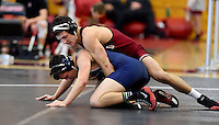 Stanford, CA; Sunday January 11, 2015; Wrestling, Stanford vs Menlo.