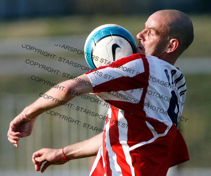 Fudbal, Kup Srbije, season 2006/07<br /> Cukaricki Vs. Crvena ZVezda<br /> Dusan Djokic<br /> Beograd, 14.03.2007.<br /> fotoL Srdjan Stevanovic