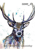 Simon, REALISTIC ANIMALS, REALISTISCHE TIERE, ANIMALES REALISTICOS, paintings+++++KatherineW_SplatterHart,GBWR24,#a#, EVERYDAY