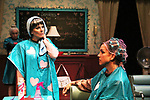Liz Keifer and Jenn Lee Andrews - Dress rehearsal on November 28, 2017 of Steel Magnolias performed at the Phillipstown Depot Theatre, Garrison, New York. (Photo by Sue Coflin/Max Photo)